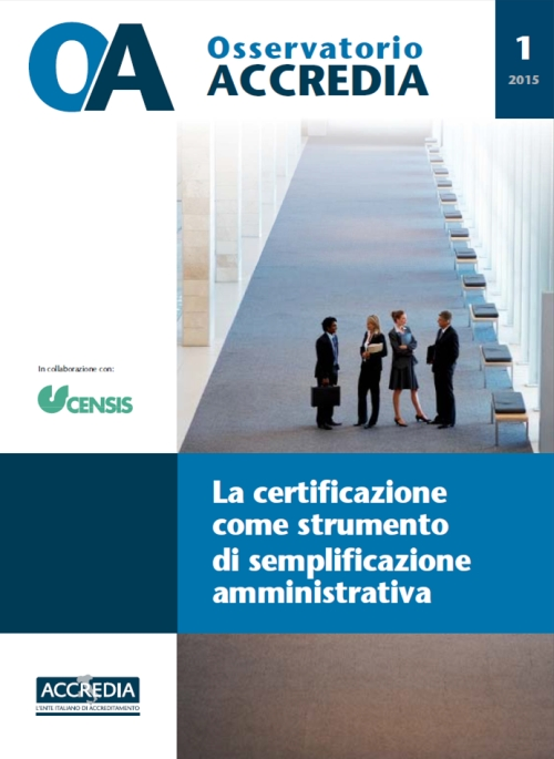 Certification As An Instrument For Administrative Simplification